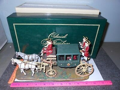 Colonial Williamsburg Randolph Carriage Wise And Lang #30489718 New In Box