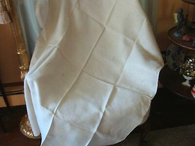 """Vintage fabric old Linen 3 YDS x 20"""" homespun material hand-woven cloth Seamed"""