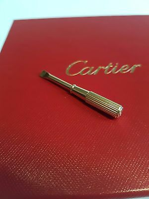 Cartier screwdriver for LOVE bracelet yellow gold