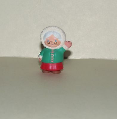 Hallmark Merry Miniature 1994 Mrs Claus  Eskimo