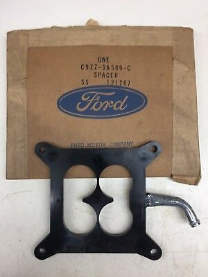 Nos Ford 1969 1970 Boss 302 Mustang Cougar Carb. Spacer C9Zz-9A589-C