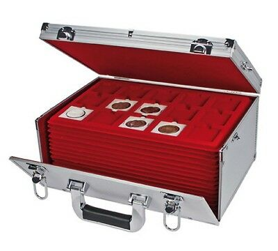 Coin Case Gigant with 15 Tableaux for over 500 Aluminum Collecting Bags