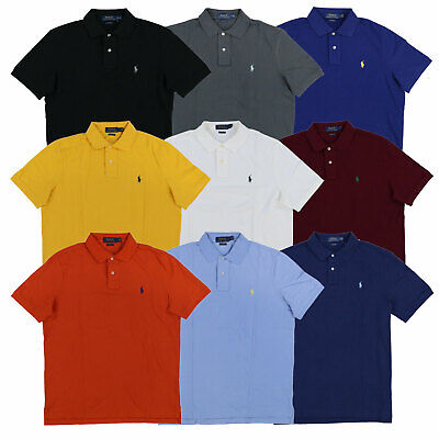 Polo Ralph Lauren Mens Classic Fit Mesh Polo Shirt S M L Xl Xxl New Nwt