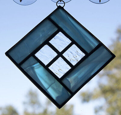 Stained Glass Suncatcher Quilt Square Panel
