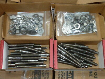 "50 Red Head (1244) Trubolt+ 316 Stainless Concrete Wedge Anchors 1/2"" x 4-1/2"""