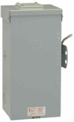 Emergency Power Transfer Switch Non Fused Generator Manual 100 Amp 240 Volt GE
