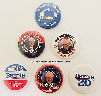 Bernie Sanders Campaign Buttons 2020 (SERIES-701-ALL)