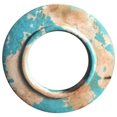 Ancient China Turquoise Bi Disc, Zhou Dynasty, 100-256 BC