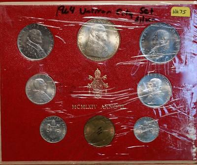 1964 Vatican City Silver Set Free S/H