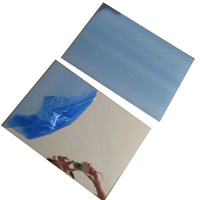 2 Sheets A4 Solar  Reflective Film Mirrored Contact Paper Decals Sticker