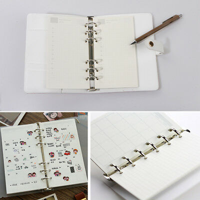 A5 A6 Loose Leaf Notebook Refill Spiral Binder Planner Inner Page Inside Papess