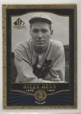 2001 SP Legendary Cuts #12 Dizzy Dean St. Louis Cardinals Baseball Card