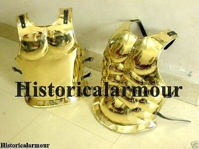 Roman Muscle Armor Brass Greek Muscle Armor Collectible Reenactment Larp Costume