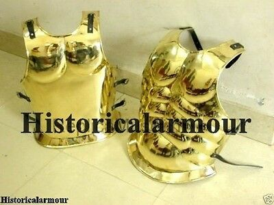 Roman Muscle Armor Brass Greek Muscle Armor Collectible - Custom Size Special