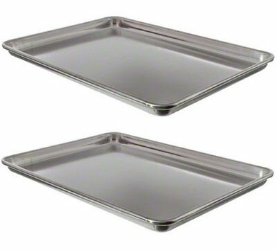 Vollrath 9303 Wear-Ever Half-Size Sheet Pans, Set of 2 18-Inch by 13-Inch,