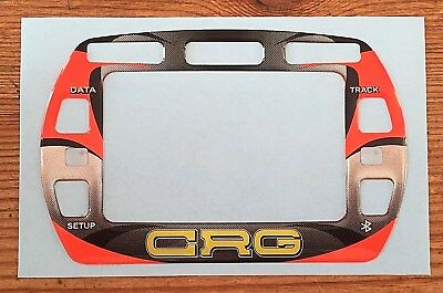 Crg Old Style Gel Sticker For Alfano Pro Iii Evo Lap Timer - Karting