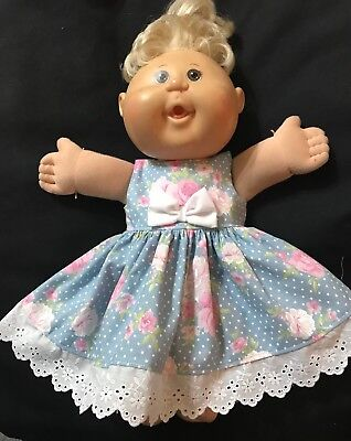 dolls clothes made to fit 42cm Cabbage Patch Dolls (size Med). Sleeveless Dress
