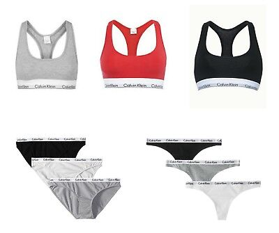 Calvin Klein Women's Underwear Bras Or Thongs or Briefs With Tags