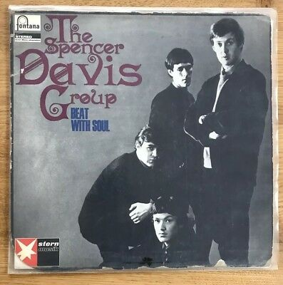 The Spencer Davis Group, Beat With Soul, Fontana Records 886187 Ty, First Press