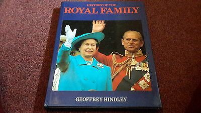 History of the Royal Family by Geoffrey Hindley (Hardback, 1985)