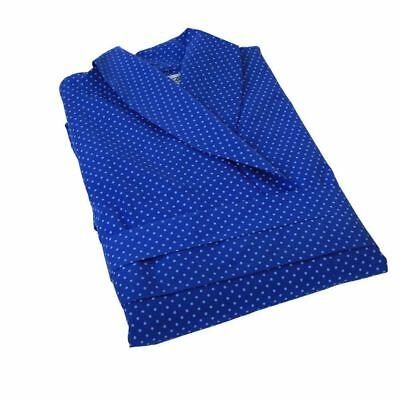 Mens Pure Premium Cotton Lightweight Travel Gowns in Small to 2XL, 2 Colours