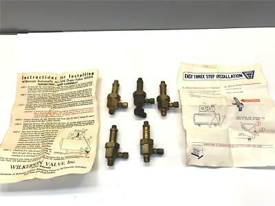 Pneumatic Compressor WILKERSON 1066 Auto Drain Valve Governor 5pc Set