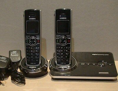 Uniden Elite 9035 +1 Cordless Phone + Digital Answering System- Used