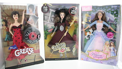 Lot Of 3 Assorted MATTEL Barbie, Grease Rizzo & Wicked Witch Doll