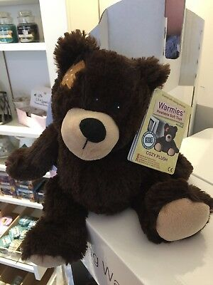 Warmies Bear Cozy Plush Microwavable Heatable Animal Cuddly Soft Toy Bedtime New