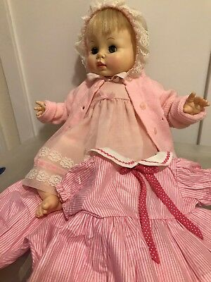 1969 Effanbee Sweetie Pie babydoll PLUS extra outfit