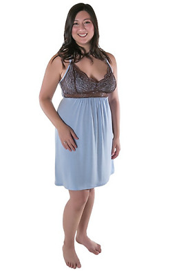 Kindred Bravely Nursing Nightgown & Maternity Lingerie Sleepwear (Small)