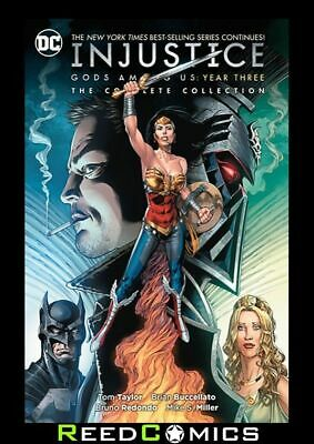 INJUSTICE GODS AMONG US YEAR THREE COMPLETE COLLECTION GRAPHIC NOVEL (304 Pages)