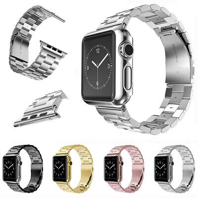 42mm iWatch Stainless Steel Bracelet Strap Band for Apple Watch Series 3 2 1 NEW