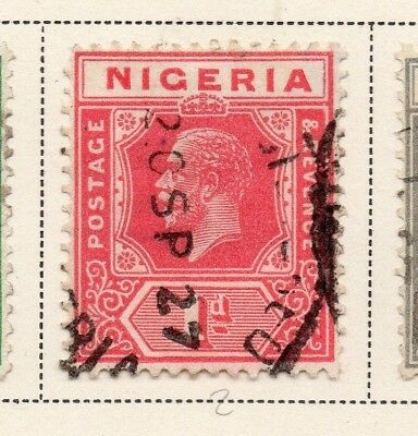 Nigeria 1921-33 Early Issue Fine Used 1d. 215300
