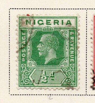 Nigeria 1921-33 Early Issue Fine Used 1/2d. 215299