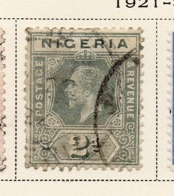 Nigeria 1921-33 Early Issue Fine Used 2d. 215292