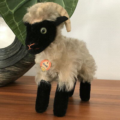 Steiff Tier Heideschaf Mountain Sheep Snucki wie 1317,00 Schild 17 cm sehr gut