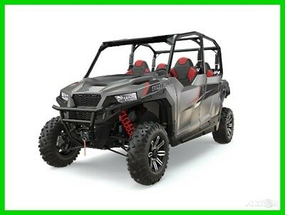 New 2017 Polaris General 4 seat 1000 silver OTD Price No Fees Last One