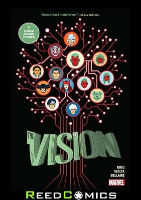 VISION HARDCOVER (488 Pages) New Hardback Collects Vision (2015) #1-12 + more
