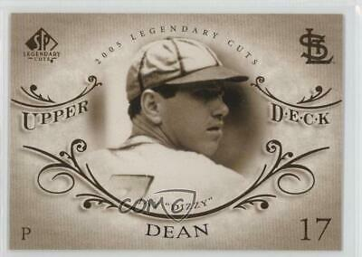2005 SP Legendary Cuts #17 Dizzy Dean St. Louis Cardinals Baseball Card