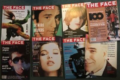 The Face Magazine Volume1. 8  issues.87/8 Ex condition. Includes 100th issue