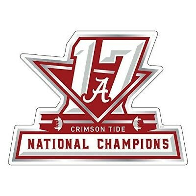 2017 NCAA Alabama Crimson Tide National Champions Magnet