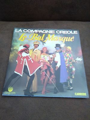"""Disk 45T Of The Company Creole """" Prom Mask """""""