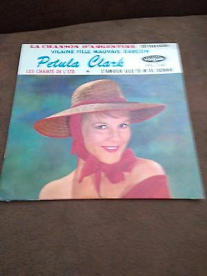 Disk 45T Of Petula Clark The Song D'argentina