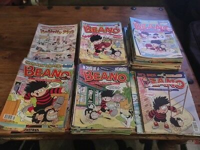 171 Job Lot / Bundle Of Beano Comics From 1999-2004 With Specials, Poster Etc.