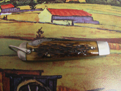 Vintage Imperial Prov Ri USA World War II Easy Open Pocket Knife