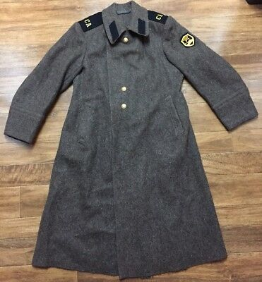 Russian Soviet Russia Military officer COAT overcoat wool USSR Army