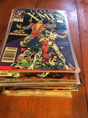 Lot Of 40 Marvel Comics Low/mid Grade Copper/modern  X-men Titles Lot 5