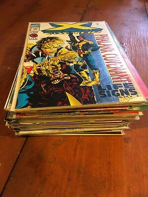 Lot Of 40 Marvel Comics Low/mid Grade Copper/modern  X-men Titles Lot 6