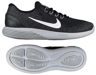 buy popular a7d65 797e6 NEW NIKE LUNARGLIDE 9 Mens Running Shoes black gray all sizes